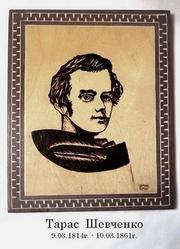Портреты украинских писателей - классиков